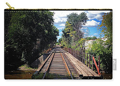 Pine River Railroad Bridge Carry-all Pouch