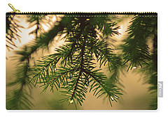 Carry-all Pouch featuring the photograph Pine by Robert Geary