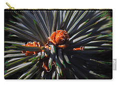 Pine Rose Carry-all Pouch