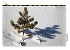 Carry-all Pouch featuring the photograph Pine Shadow by Shane Bechler