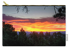 Pine Sunrise Carry-all Pouch by Fiskr Larsen