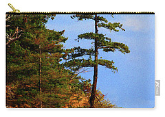 Pine Tree Along The Oregon Coast Carry-all Pouch