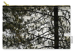 Pine Tree And The River Carry-all Pouch