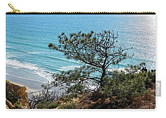 Pine Tree On Coast Carry-all Pouch