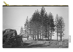 Carry-all Pouch featuring the painting Pine Trees, Norfolk Island, Kerry And Co, Sydney, Australia, C. 1884-1917 by Artistic Panda
