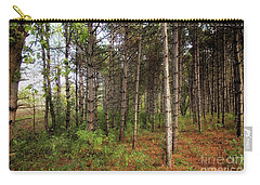 Pine Trees Of Whitetail Woods Park Carry-all Pouch