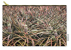 Carry-all Pouch featuring the photograph Pineapple Pano by Heather Applegate