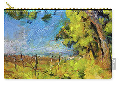 Pines And Vineyard Carry-all Pouch