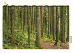 Pines Ferns And Moss Carry-all Pouch
