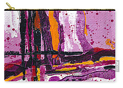 Pink Abstraction Carry-all Pouch