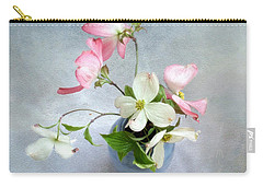 Pink And White Dogwood Still Carry-all Pouch
