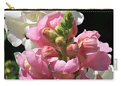 Carry-all Pouch featuring the photograph Sweet Peas by Eunice Miller