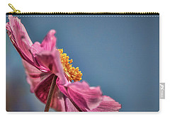 Carry-all Pouch featuring the photograph Pink And Yellow Profile #h8 by Leif Sohlman