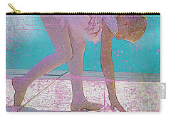 Carry-all Pouch featuring the photograph Pink Ballerina by Craig J Satterlee