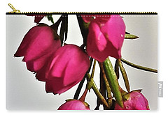 Pink Bells Carry-all Pouch by Jim Harris