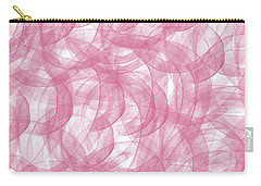 Pink Bliss Abstract Carry-all Pouch