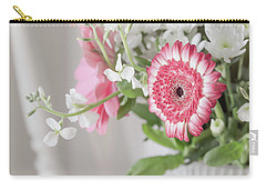Carry-all Pouch featuring the photograph Pink Blooms Love by Kim Hojnacki