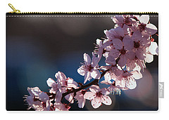 Pink Blossoms Carry-all Pouch by Don Gradner
