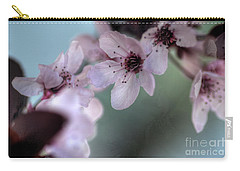 Carry-all Pouch featuring the photograph Pink Blossoms by Jim and Emily Bush