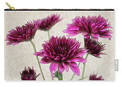 Pink Bouquet Carry-all Pouch by Judy Vincent