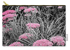 Pink Carved Cowslip Carry-all Pouch