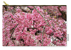 Pink Cherry Blossom Japan Arashayama Spring Holiday Diaries Carry-all Pouch