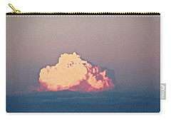 Carry-all Pouch featuring the photograph Pink Cloud by Stephanie Moore