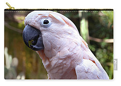 Pink Cockatoo Carry-all Pouch
