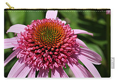 Pink Coneflower Close-up Carry-all Pouch