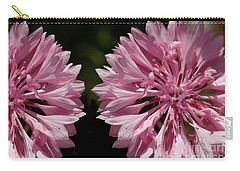 Pink Cornflowers Carry-all Pouch