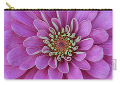 Carry-all Pouch featuring the photograph Pink Dahlia by Dale Kincaid