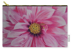 Pink Dahlia I Carry-all Pouch