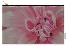 Pink Dahlia II Carry-all Pouch