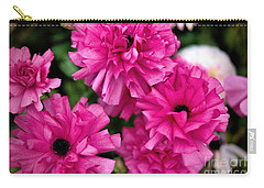 Carry-all Pouch featuring the photograph Pink by Diana Mary Sharpton