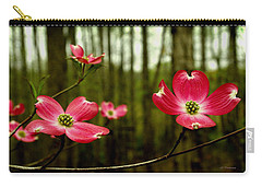 Pink Dogwood Flowers Carry-all Pouch