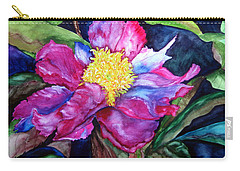 Pink Drama Carry-all Pouch by Lil Taylor