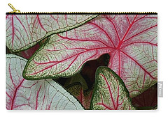Pink Elephant Ears Closeup Carry-all Pouch