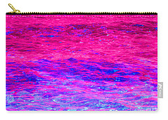 Pink Fantasy Waters Abstract Carry-all Pouch