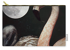 Pink Flamingo Moon 2 Carry-all Pouch