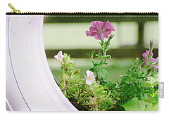 Carry-all Pouch featuring the photograph Pink Floral 2 by Andrea Anderegg