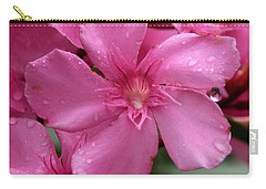 Pink Flower After Rain Carry-all Pouch
