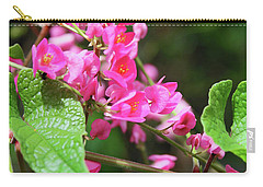 Pink Flowering Vine3 Carry-all Pouch