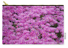 Pink Flowers Field Carry-all Pouch