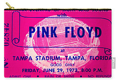 Pink Floyd Concert Ticket 1973 Carry-all Pouch