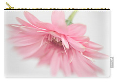 Pink Gerbera Daisy II Carry-all Pouch by David and Carol Kelly