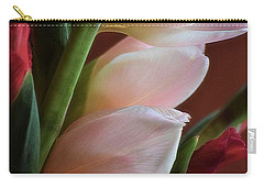 Pink Gladiolus Carry-all Pouch