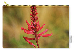 Carry-all Pouch featuring the photograph Pink Glory by Deborah Benoit