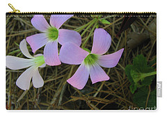Carry-all Pouch featuring the photograph Pink Glow by Donna Brown
