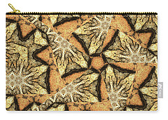 Pink Granite Abstract Carry-all Pouch by Peter J Sucy
