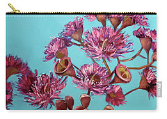 Pink Gum Blossoms Carry-all Pouch